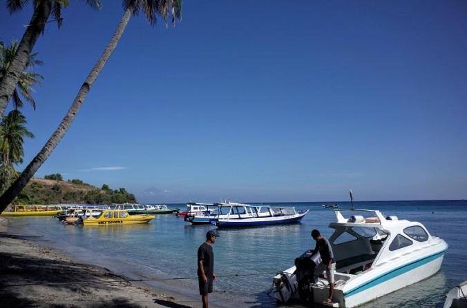 Pelabuhan Mentigi Lombok