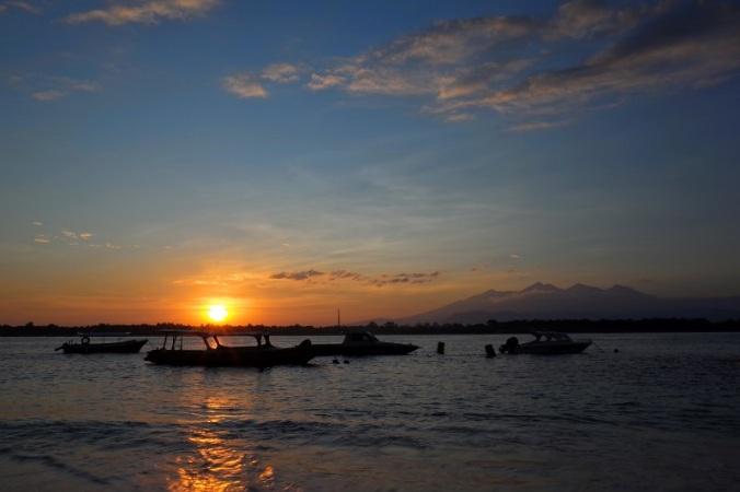 Sunrise Gili Trawangan